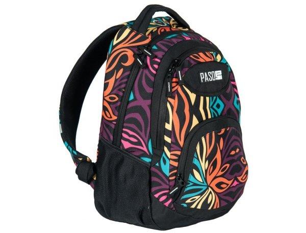 Plecak Młodzieżowy Szkolny dla Dziewczyny w Kwiaty