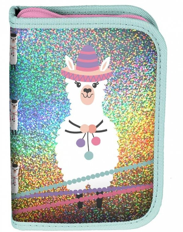 Dziewczęcy plecak w kolorowe Lamy Paso Szkolny [PP19LA-810]