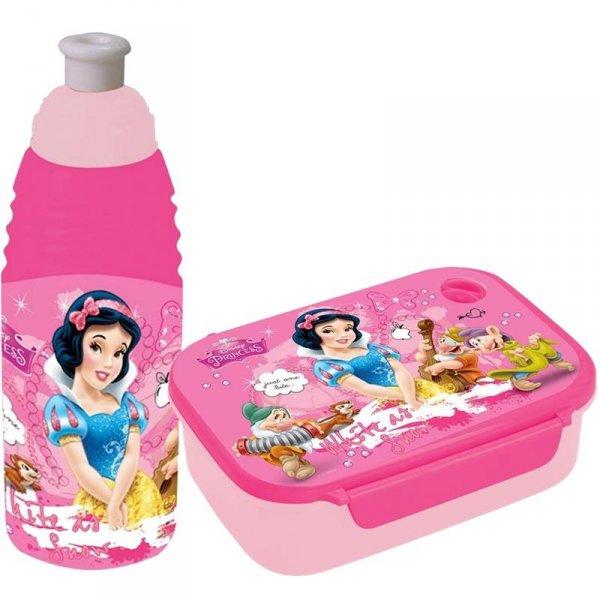 Śniadaniówka Bidon Księżniczki dla Dziewczyny Komplet