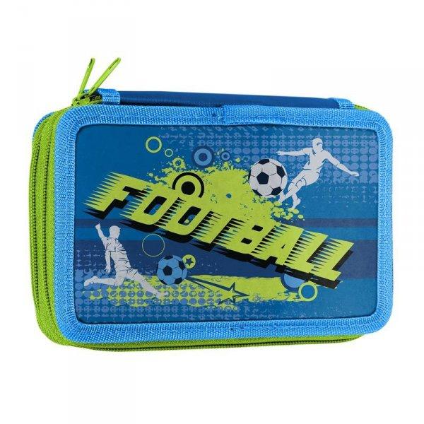 Piórnik Piłka Nożna Dwukomorowy Szkolny Chłopięcy
