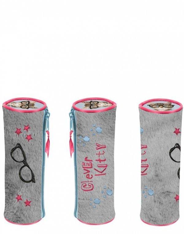 Piórnik Pluszowy Tuba Szkolny dla Dziewczyny [RHW-003]