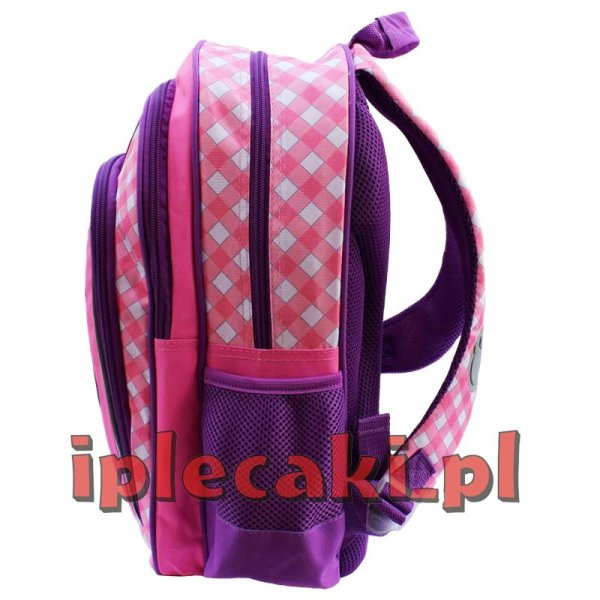 Zestaw Szkolny 5w1: plecak szkolny + piórnik + worek gimnastyczny + bidon + śniadaniówka z Psem Pieskiem