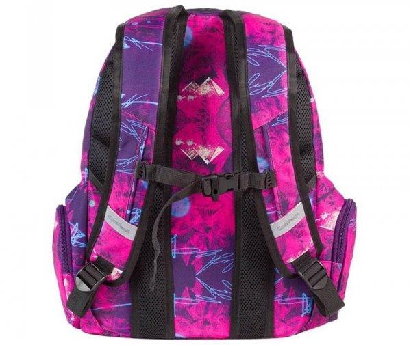 plecak cp coolpack szkolny młodzieżowy filetowy różowy spark purple desert