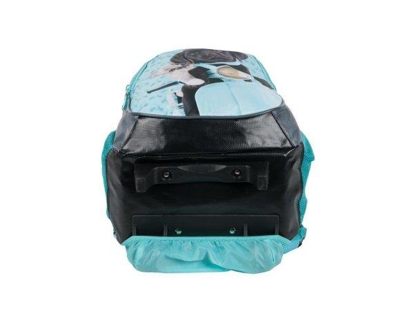Plecak na Kółkach Pies Kot Szkolny dla Dziewczyny