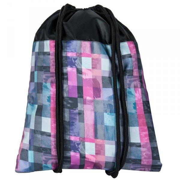 Worek na Buty Obuwie Gimnastyczny Młodzieżowy Plecak Kolorowy