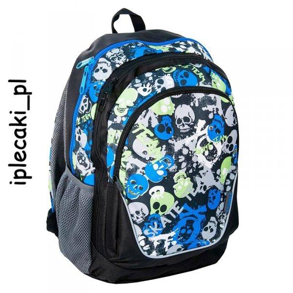 Plecak Szkolny Młodzieżowy Sportowy Miejski Paso 15-367D