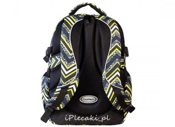 plecaki cp szkolne żółty czarny