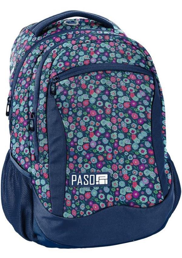 Plecak w Kwiateczki Młodzieżowy Szkolny [18-2808KW/16]