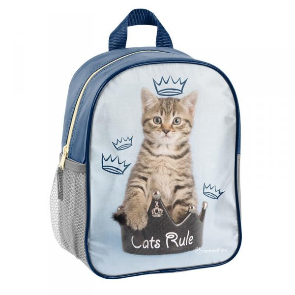 Plecak przedszkolny Plecaczek z Kotkiem na Wycieczki dla Dziewczyny RHU-303