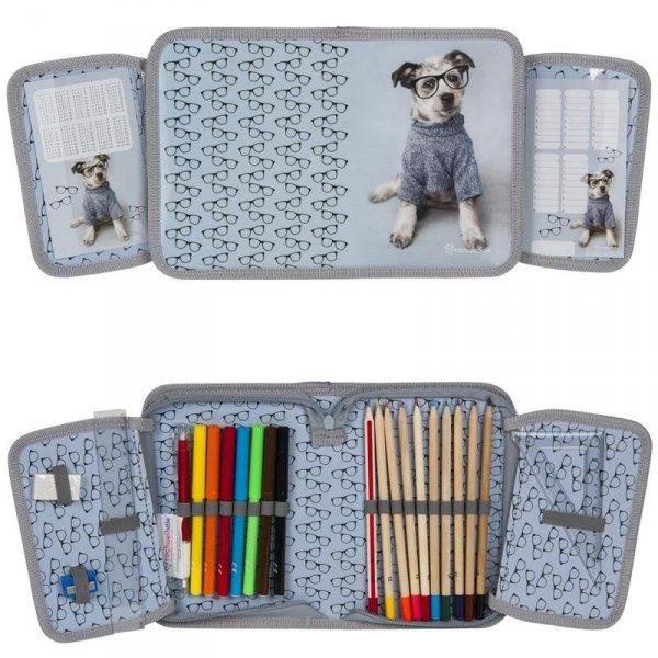 Plecak Szkolny z Pieskiem Pies Zestaw dla Dziewczyny