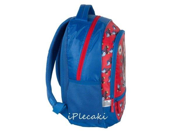 plecak soy luna szkolny czerwony niebieski