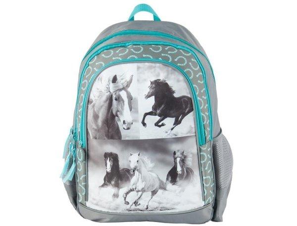Plecak Szkolny z Koniem Końmi dla Dziewczyny