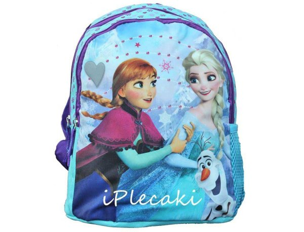 Plecak Kraina Lodu dla Dziewczyny do Przedszkola