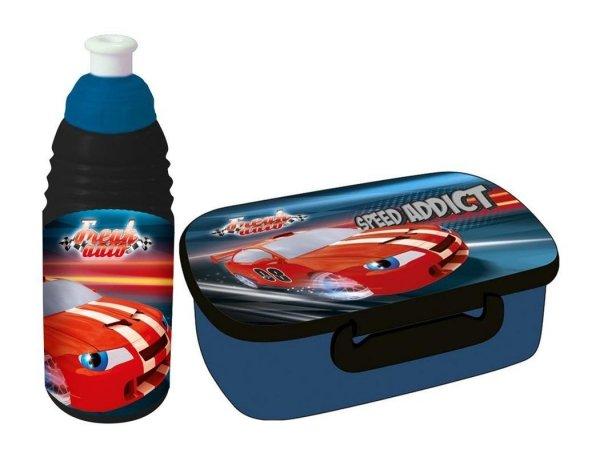 Śniadaniówka Bidon Cars Auta Auto Pojemnik na Śniadanie