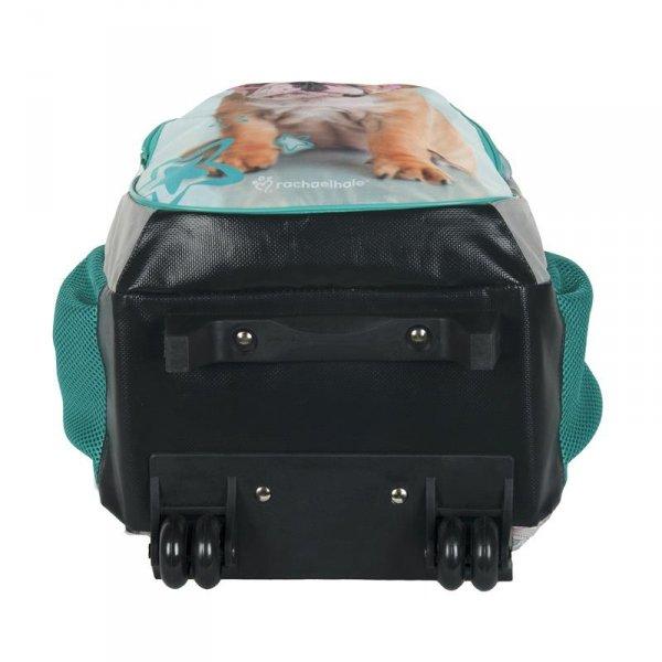 plecak z kółkami dziewczęcy