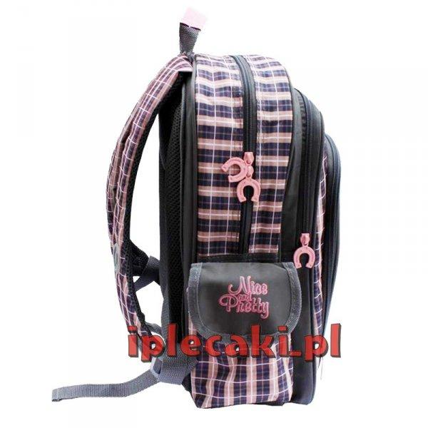 plecaki szkolne z końmi