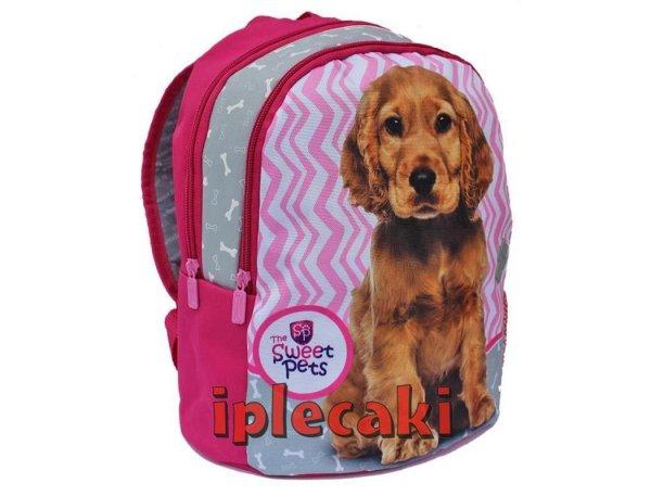 plecak z pieskiem spaniel przedszkolny na wycieczki