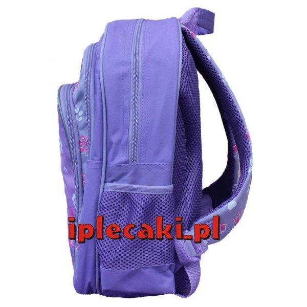 plecaki szkolne z pieskiem dziewczęce