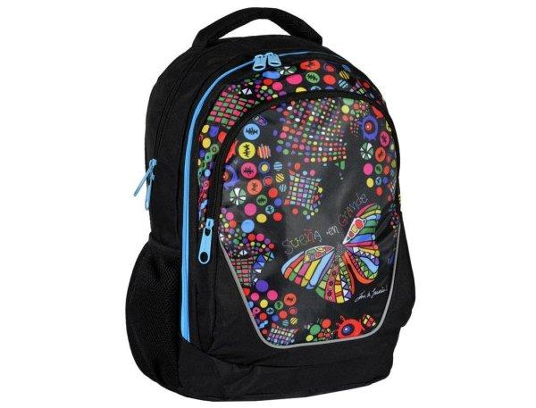 Plecak Młodzieżowy Szkolny Big Dream dla Dziewczyny Motyl