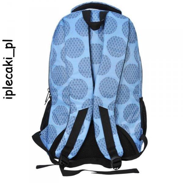Niebieski Plecak Młodzieżowy Szkolny