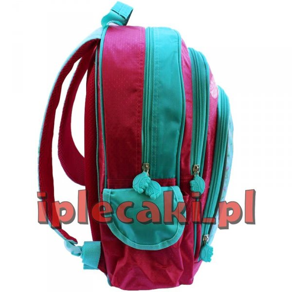 Zestaw Szkolny 3w1:plecak szkolny+piórnik+worek w-f  Księżniczki Princess Księżniczka