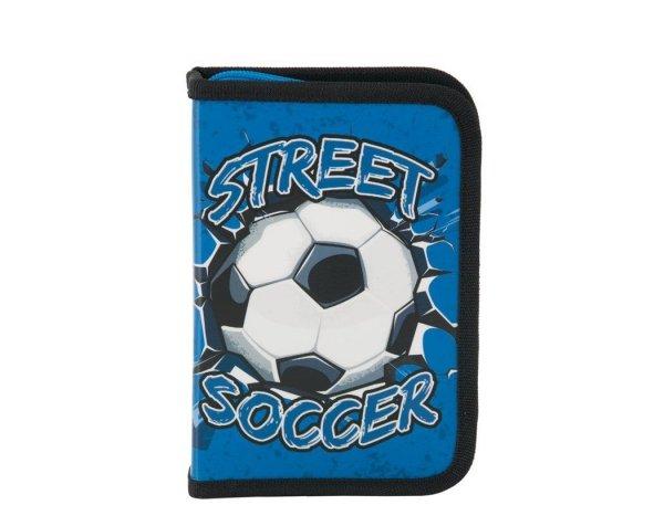 Piórnik Futbol dla Chłopaka do Szkoły z Wyposażeniem Piłka Nożna