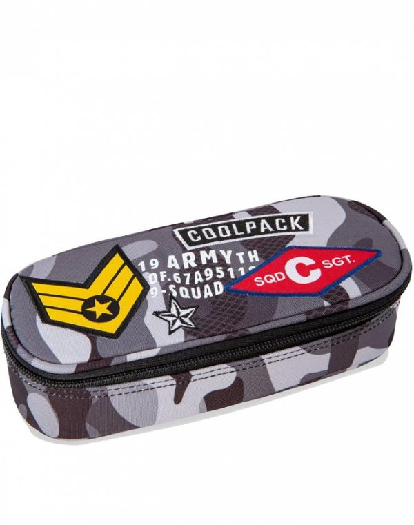 CoolPack Plecak Cp Moro Młodzieżowy z Naszywkami [A16111]