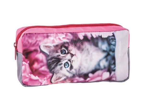 Piórnik Szkolny z Kotkiem Kotem dla Dziewczyny