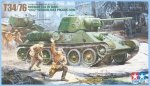 TAMIYA 35149 TANK T-34/76 CHTZ VERSION