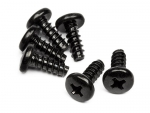 TP. BINDER HEAD SCREW M4x10mm (6pcs) Z632