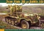 ACE 72286 1/72 2cm Flak 38 sfl SdKfz.10/4