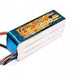 Akumulator 6000mAh 22.2V 35C Gens Ace 6S1P