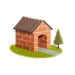 Teifoc Domek 1022 cegiełki do murowania