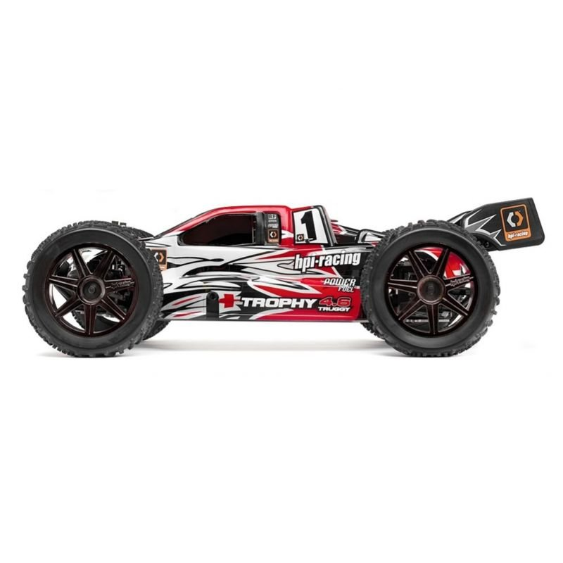 hpi trophy 4 6 truggy 1 8 nitro 80 km h auto rc auta. Black Bedroom Furniture Sets. Home Design Ideas