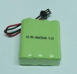 Akumulator 9,6V 650mAh NiMH