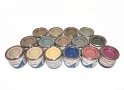 Humbrol 15szt farb - losowe kolory