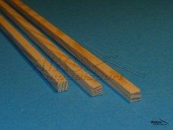 Listwa sosnowa - 3x6x1000mm