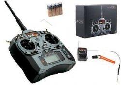 Aparatura DX6i DSM X Spektrum Air-Heli AR610
