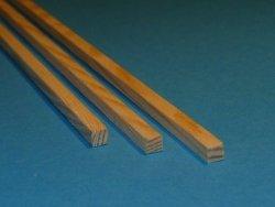 Listwa sosnowa - 4x4x1000mm