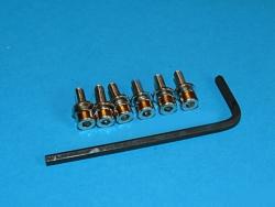 TRAXXAS [3159] - komplet śrub imbusowych M3x10mm (
