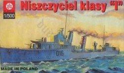 "PLASTYK S-015 Niszczyciel klasy ""I"""
