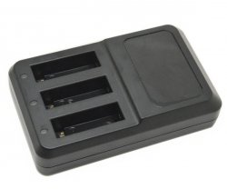 Ładowarka na trzy baterie GoPro Hero 4