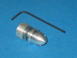 Piasta M5 / 2,3mm z kołpakiem owalnym