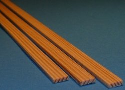 Listwa sosnowa - 5x20x1000mm