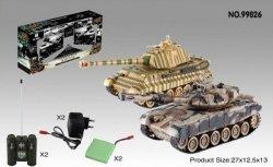 Zestaw wzajemnie walczących czołgów Russian T90 v2