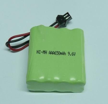 Akumulator 9.6V 650mAh NiMH