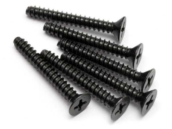 TP. FLAT HEAD SCREW M4x30mm (6pcs) Z649