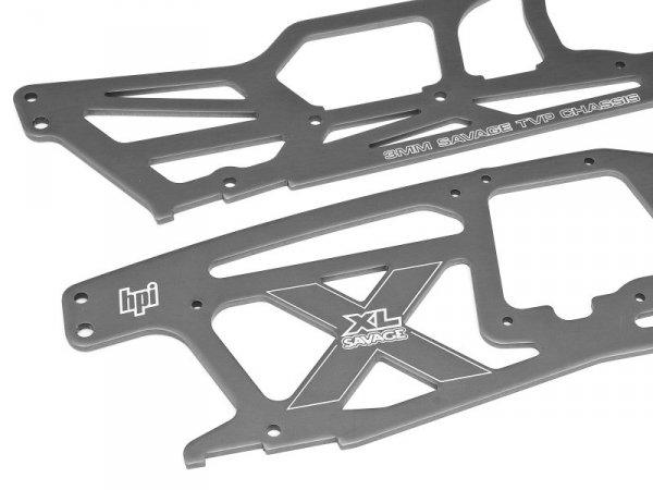 MAIN CHASSIS SET (SAVAGE XL/GRAY) 73941