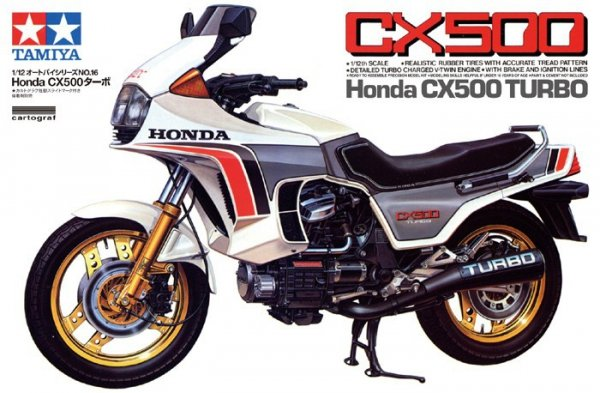 TAMIYA 14016 Honda CX500 Turbo