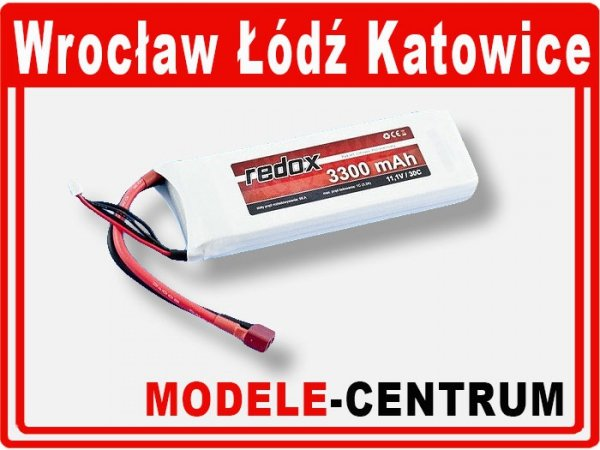 Akumulator Redox 11,1V 3300mAh  LiPo 30C